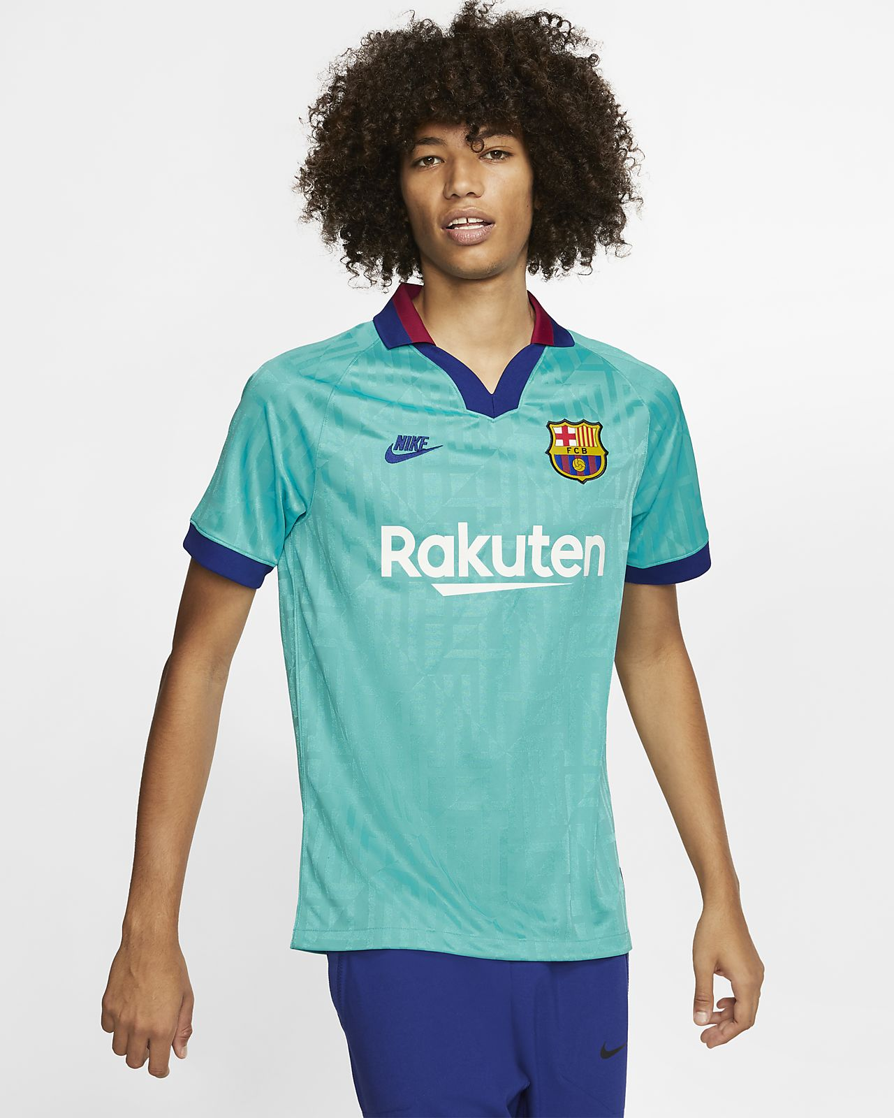 FC Barcelona 2019/20 Stadium Third Men's Football Shirt
