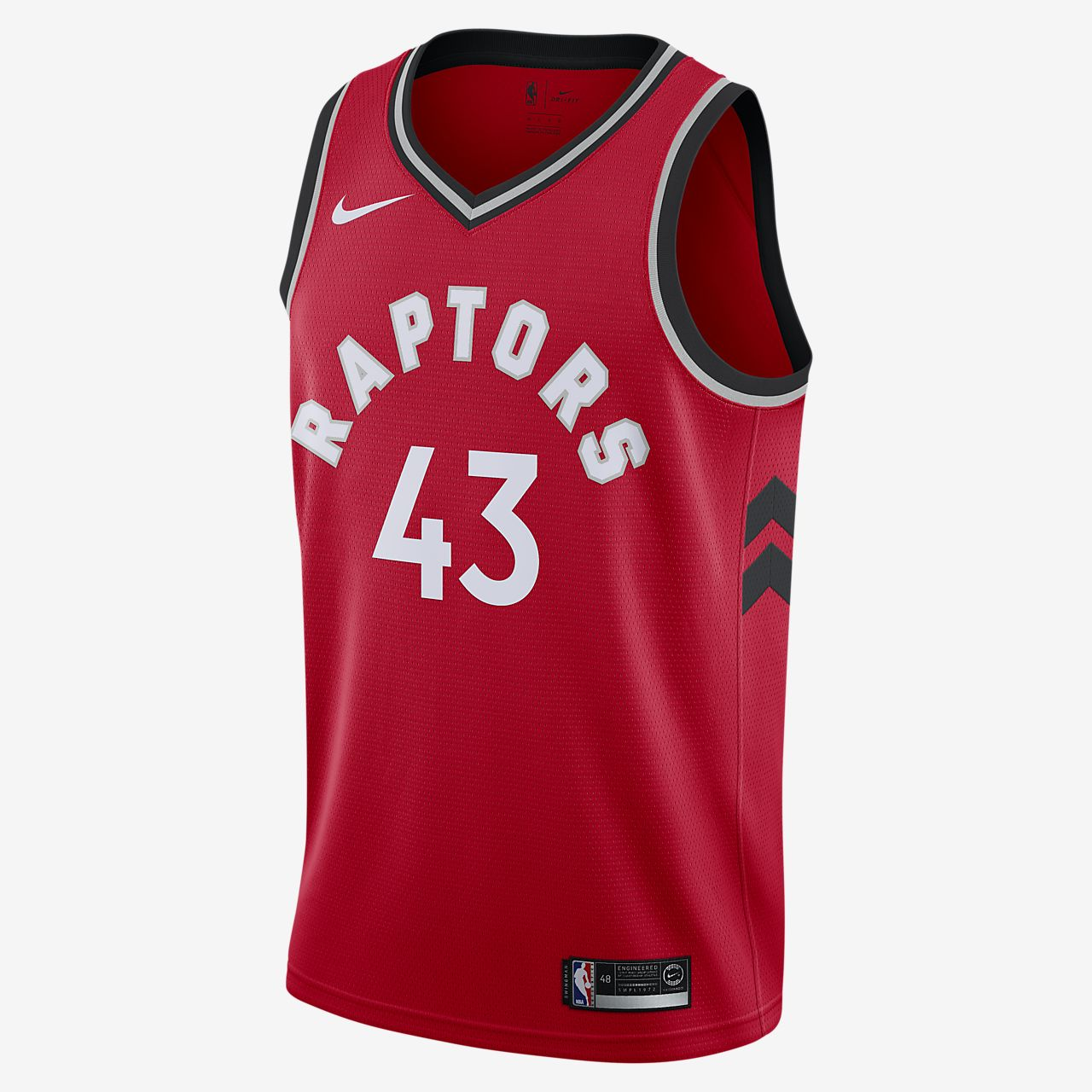 Camiseta Nike NBA Swingman Pascal Siakam Raptors Icon Edition