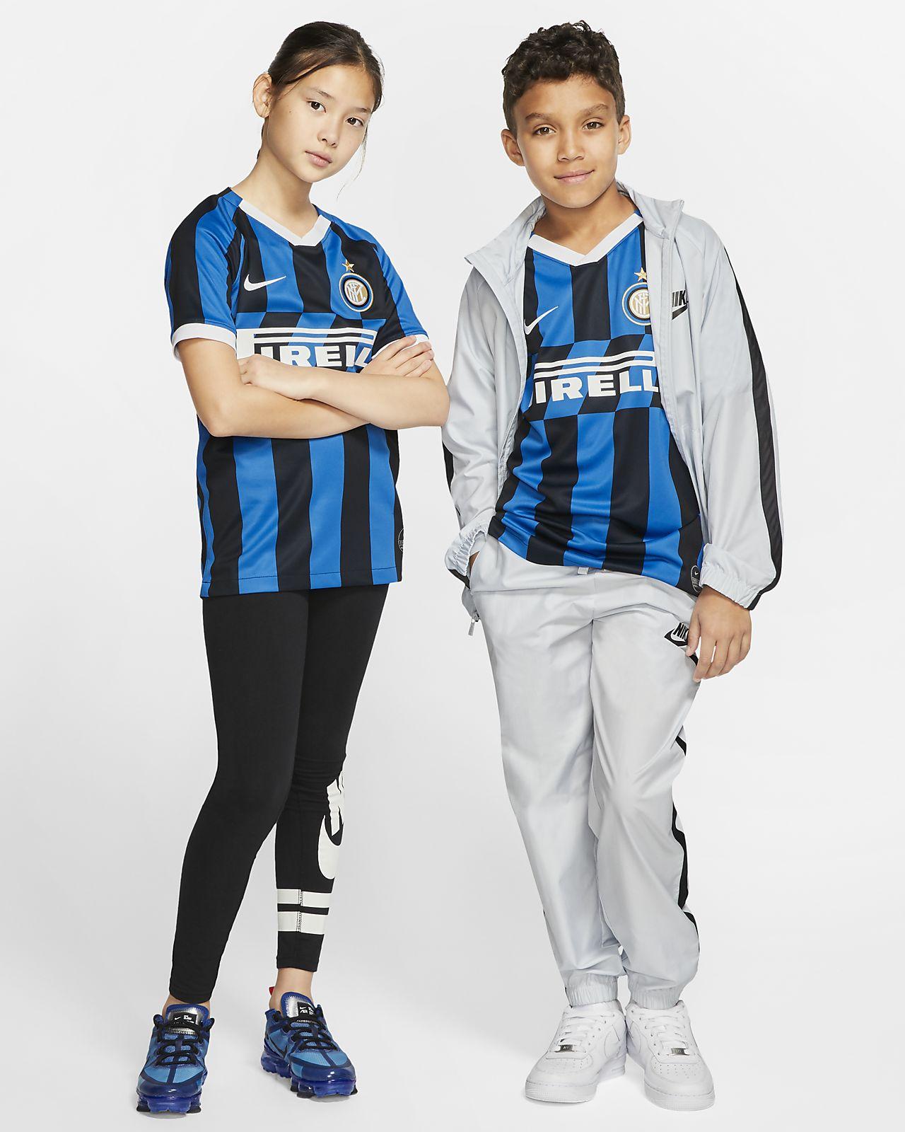 Inter Milan 2019/20 Stadium Home fotballdrakt til store barn