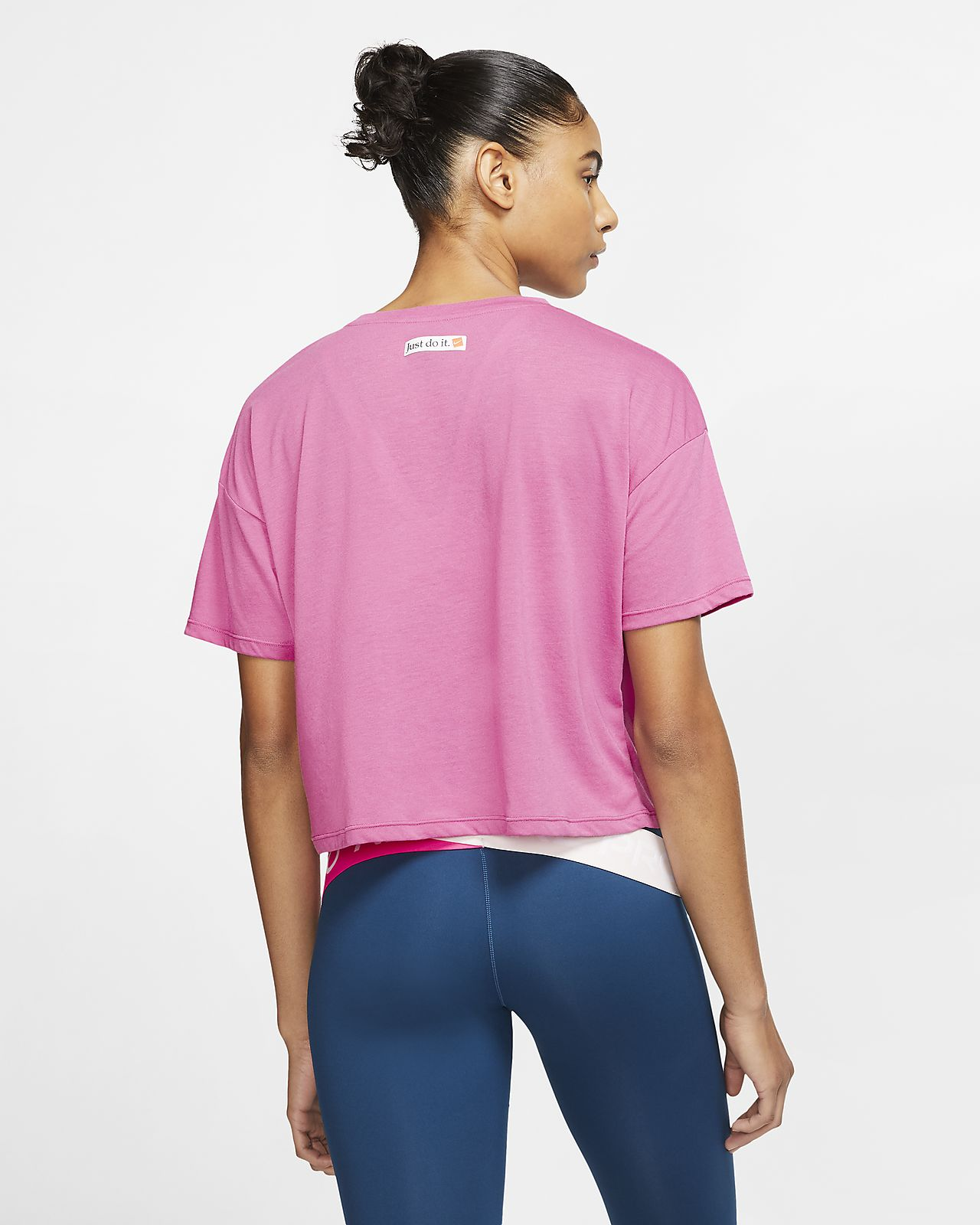 Top da training a manica corta Nike Icon Clash Donna