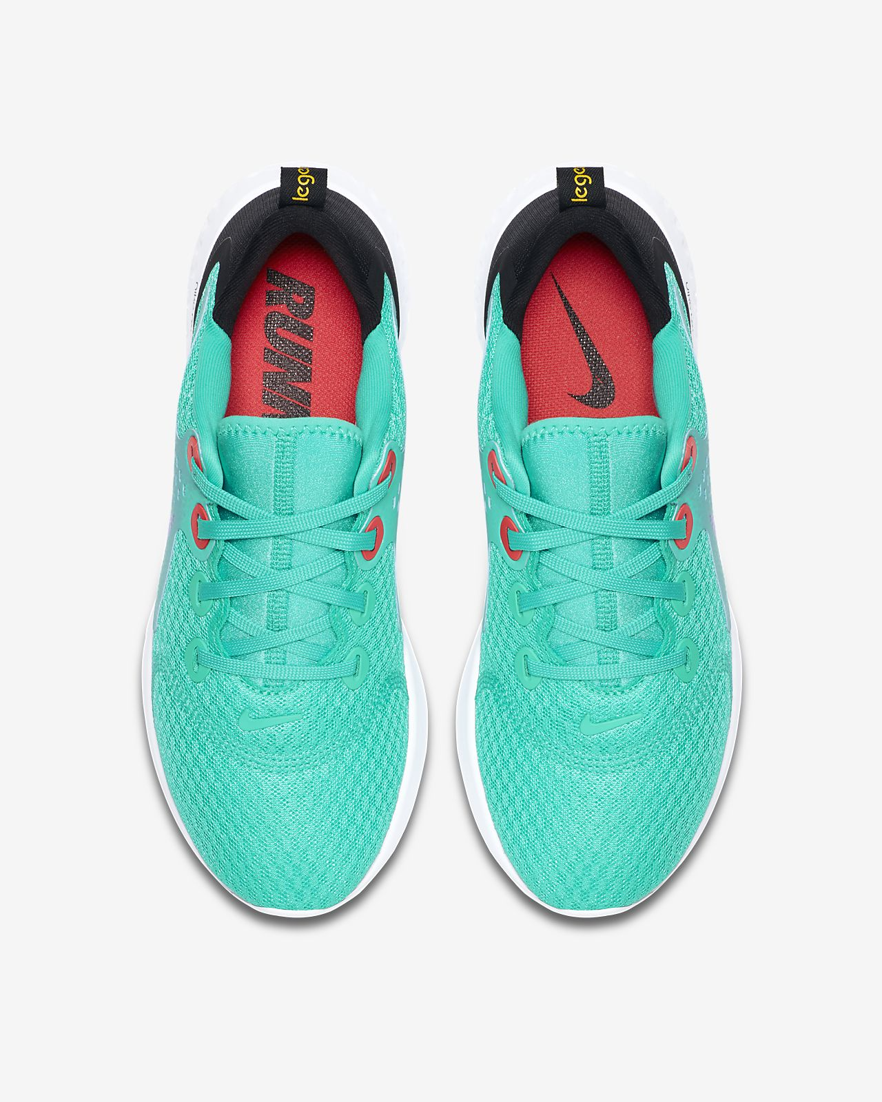 RED AND WHITE IN BLACK NEW MEN/'S NIKE LEGEND REACT RUNNING SHOES $100 RETAIL!