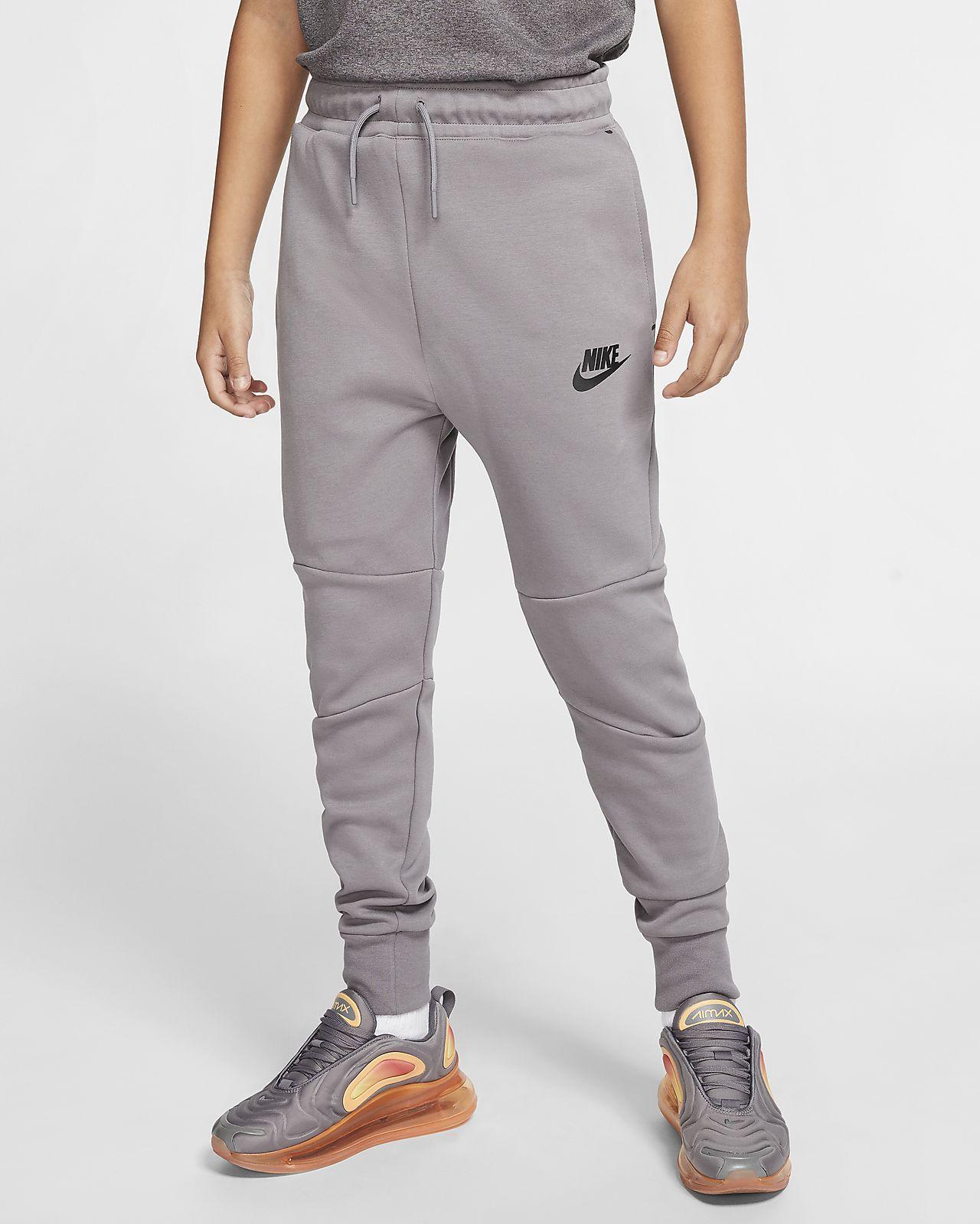Spodnie Tech Fleece dla dużych dzieci Nike Sportswear