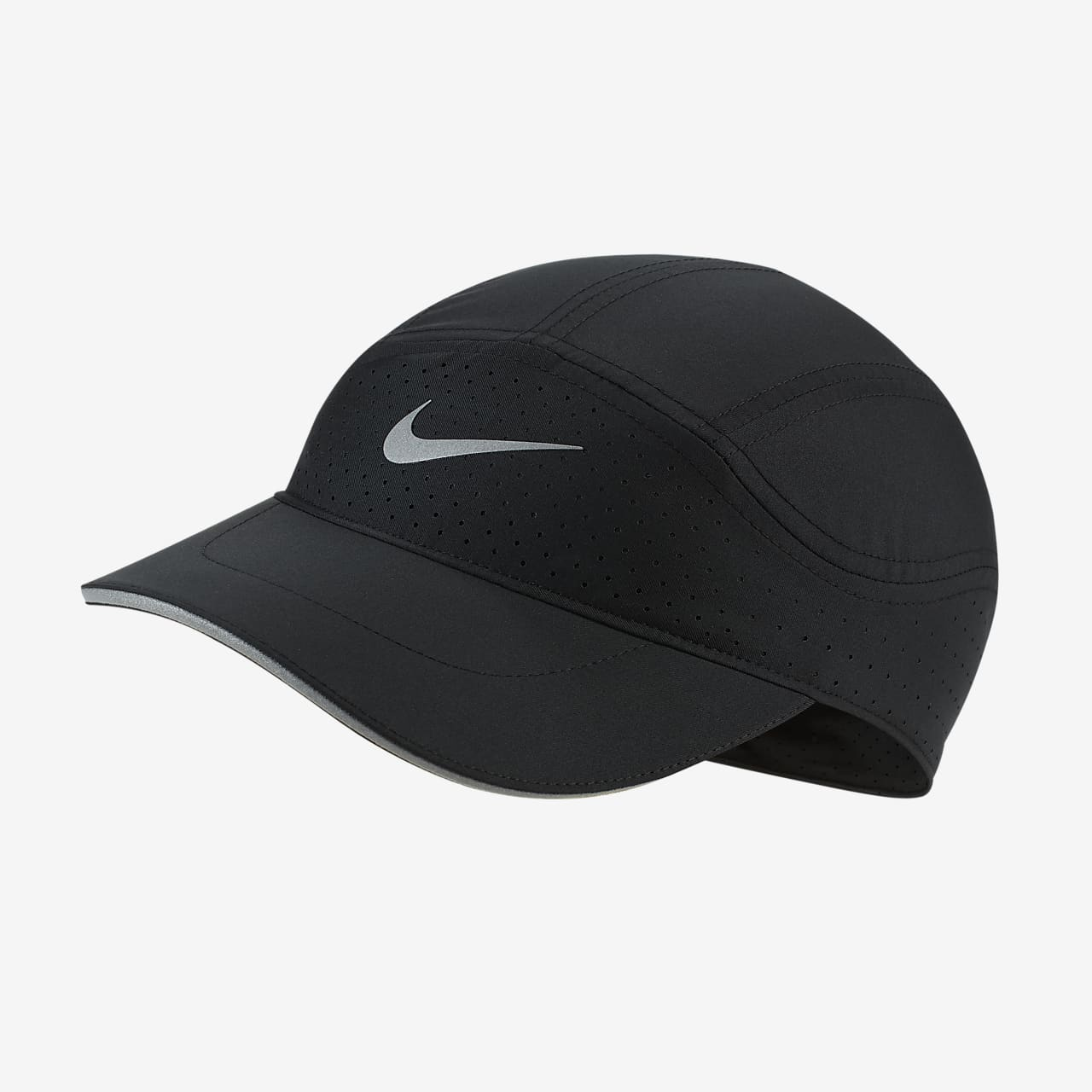 NIKE AIR TN AEROBIL AW84 BASEBALL CAP BLACK BLUE ONE SIZE ADJUSTABLE FIT