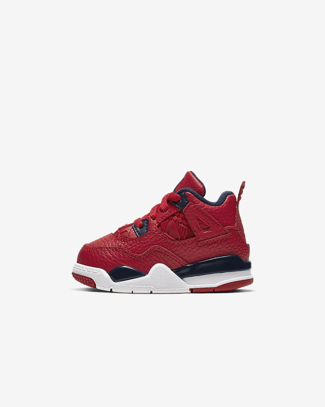 Air Jordan 4 Retro Baby/Toddler Shoe