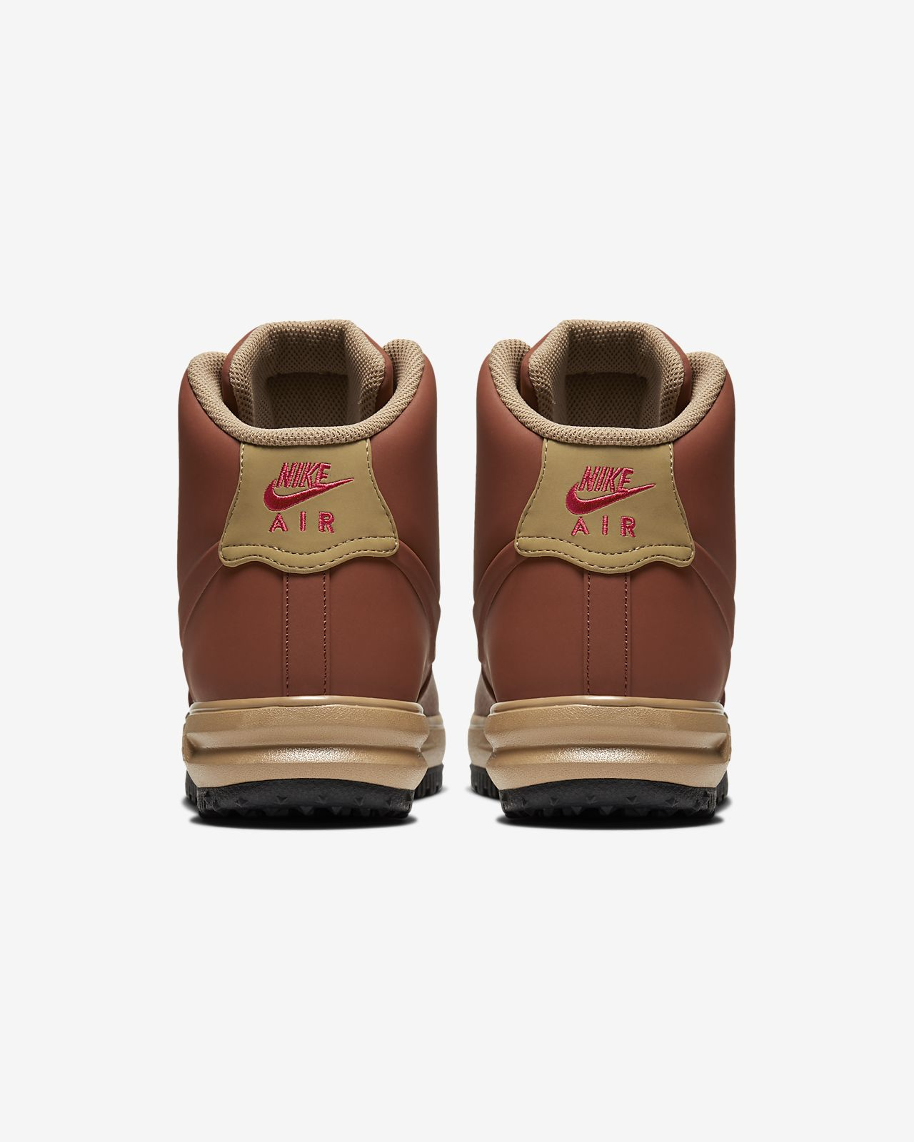 Nike Lunar Force 1 /'18 Duckboot Mens Brown Lifestyle Sneakers Shoes BQ7930-200
