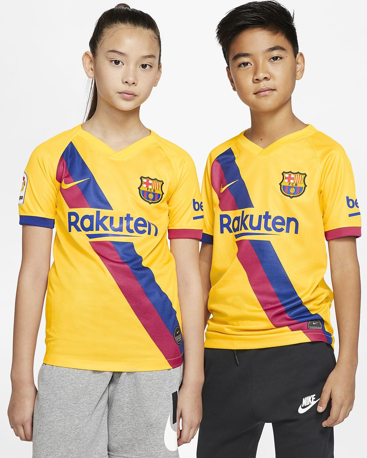 Fotbollströja FC Barcelona 2019/20 Stadium Away för ungdom
