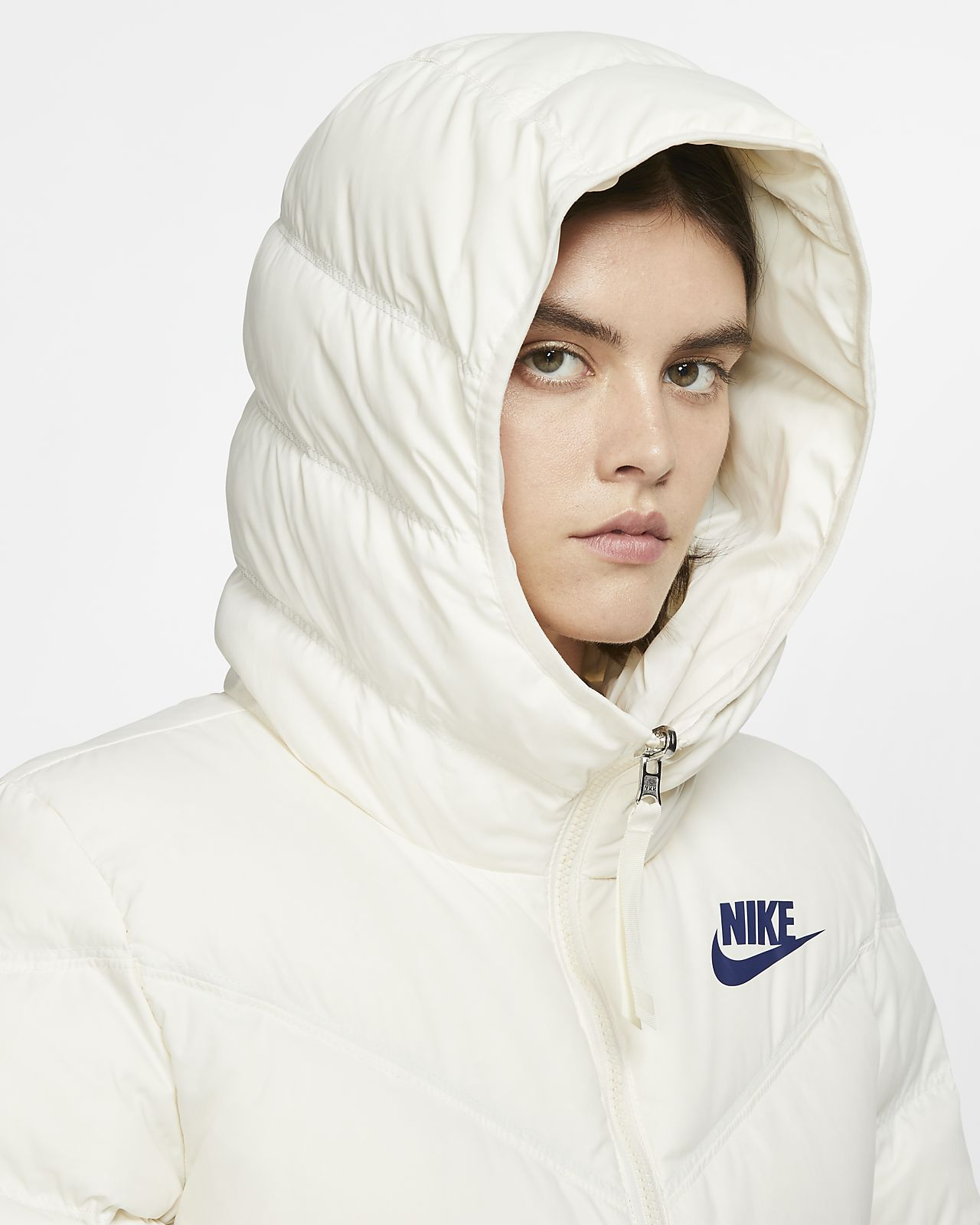 nike sko Udsalg tilbud, Nike Sportswear Dunjakker Damer Tøj