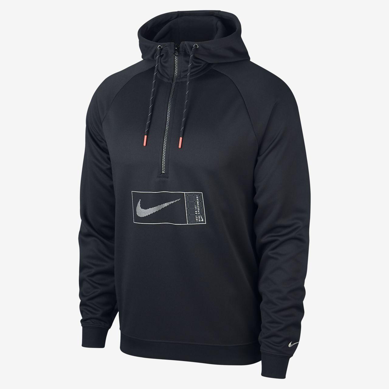 Nike Sportswear Polyknit Hoodie mit Halbreißverschluss für Herren