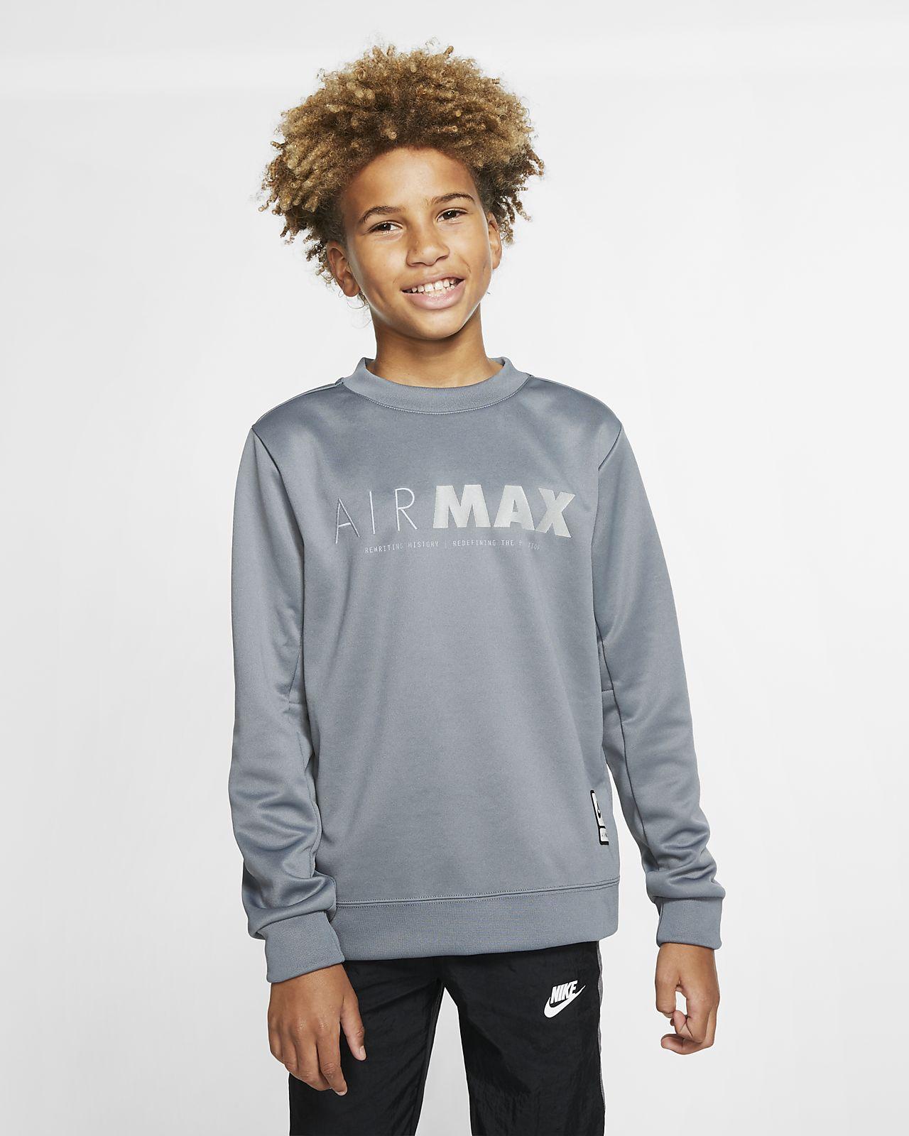Nike Sportswear Air Max Older Kids' (Boys') Crew