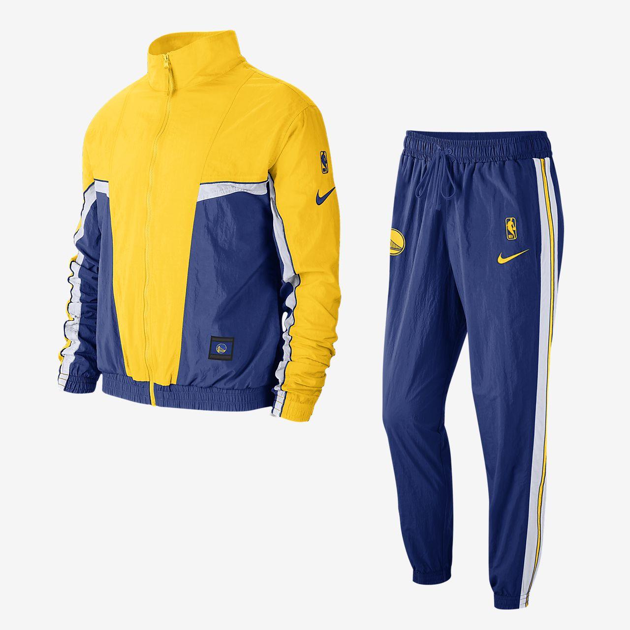 Golden State Warriors Courtside Nike NBA-Trainingsanzug für Herren