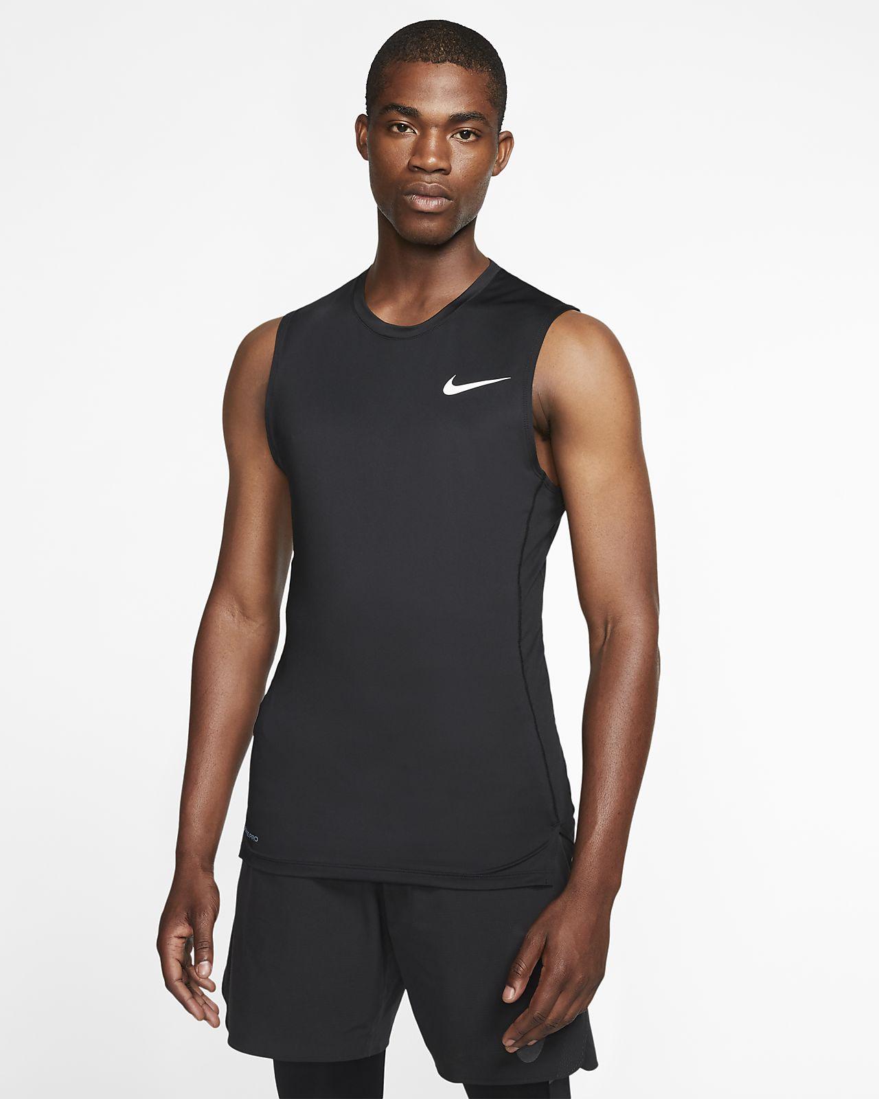 Nike Pro Herentop zonder mouwen