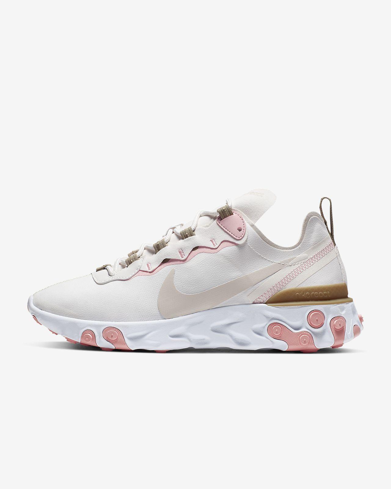 Nike React Element 55 Women's Shoe. Nike HR