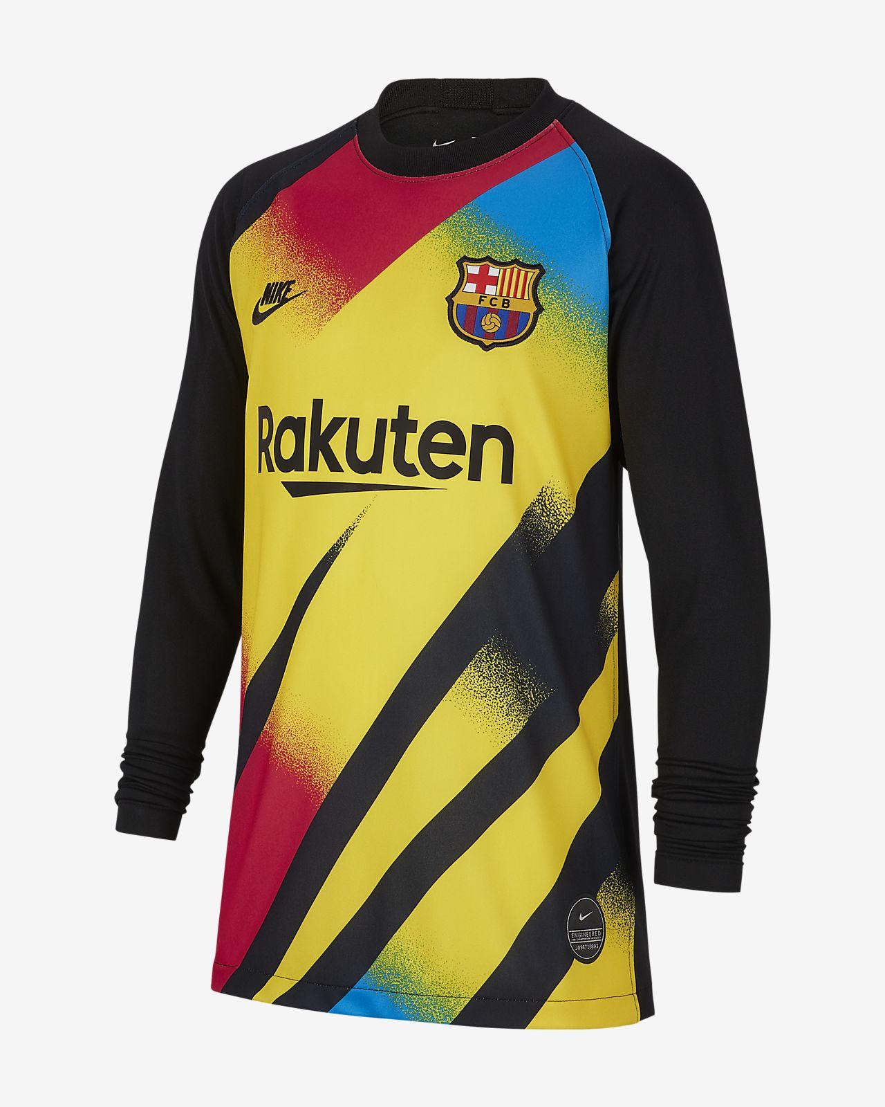 Brankářský fotbalový dres FC Barcelona 2019/20 Stadium pro větší děti