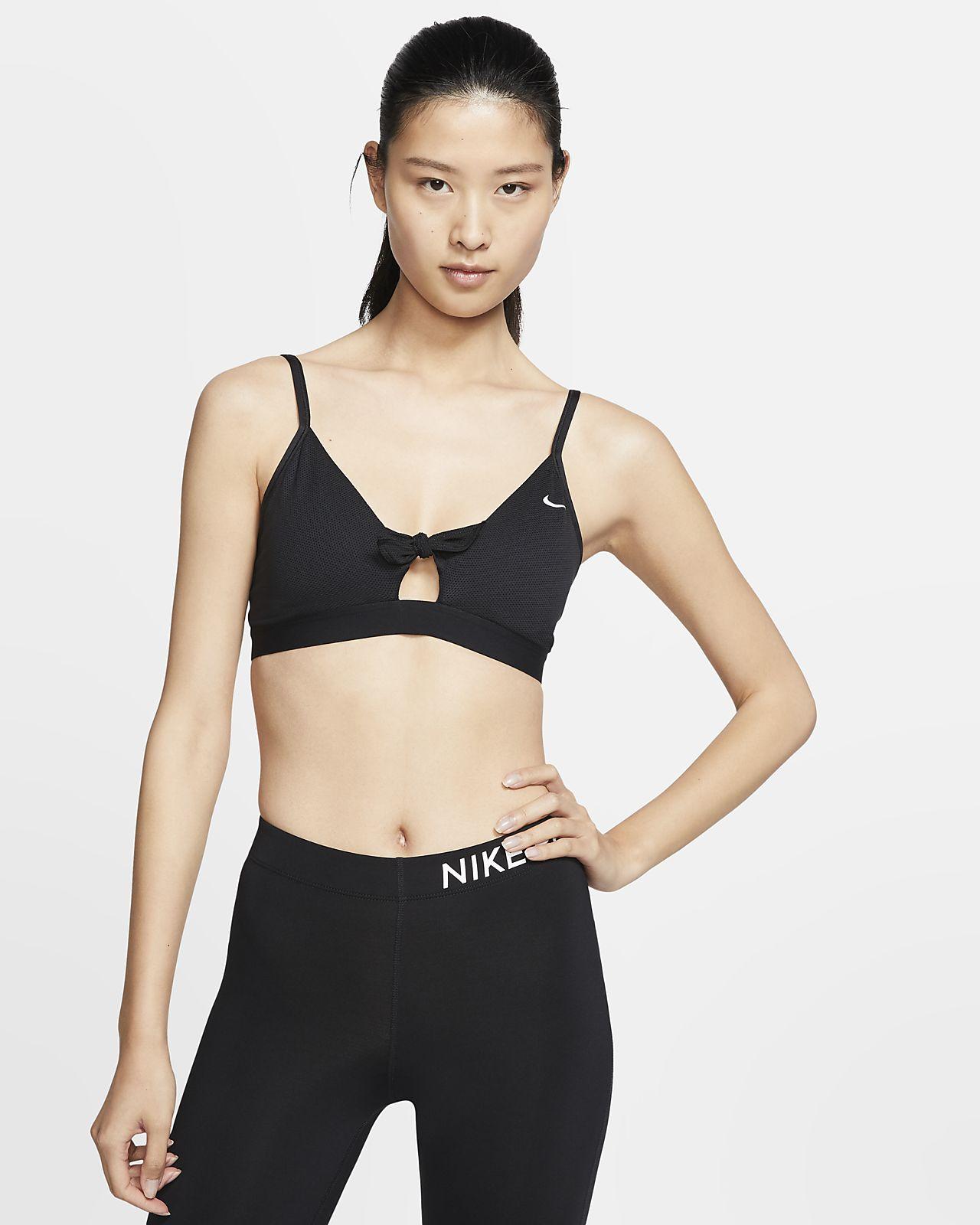 สปอร์ตบราผู้หญิงซัพพอร์ตระดับต่ำ Nike Favorites