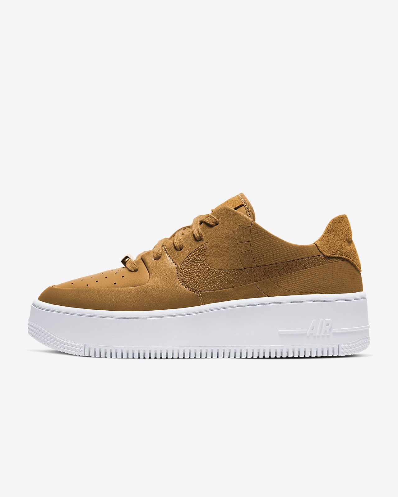 brown low nike air force 1