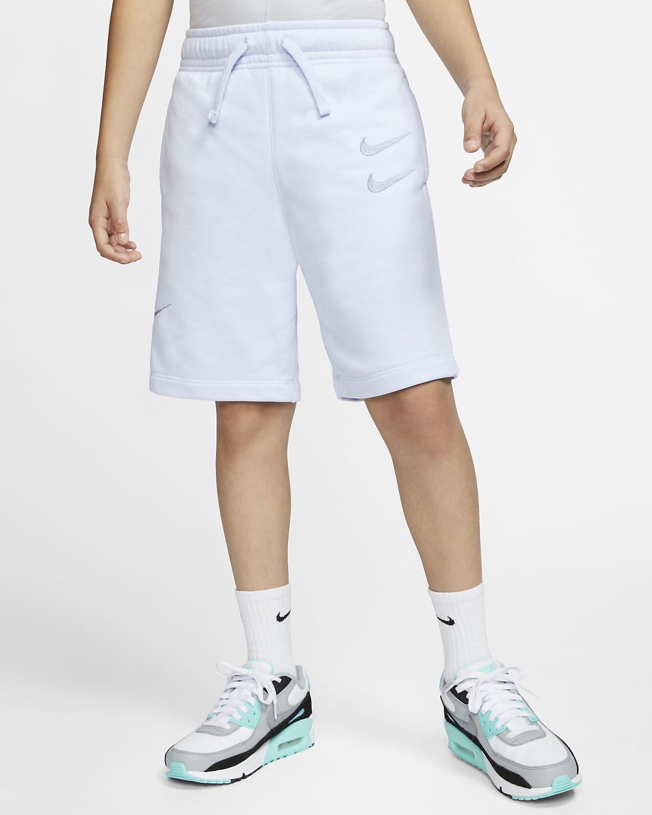 Nike Sportswear frottéshorts til store barn (gutt)