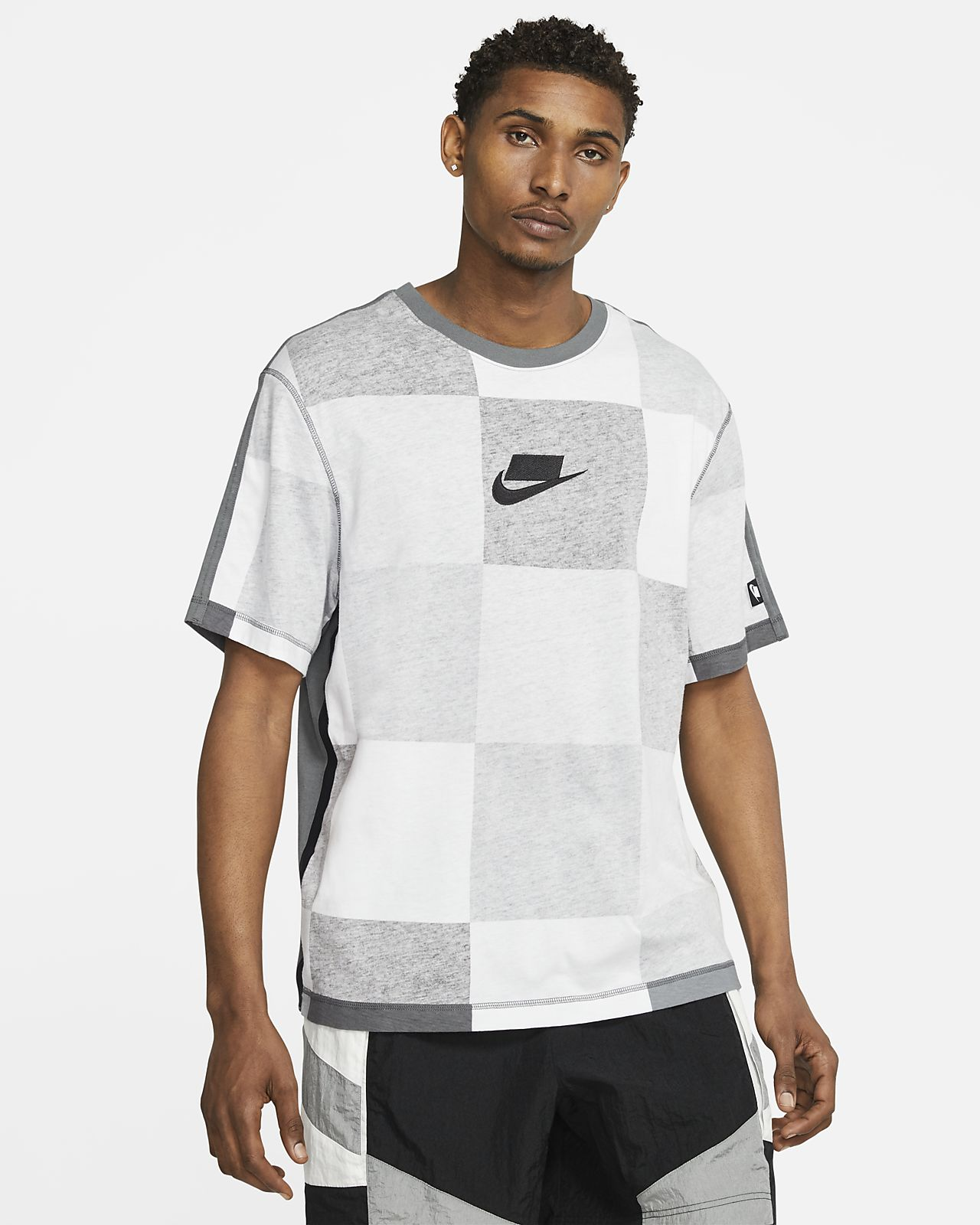Prenda para la parte superior de manga corta tejida para hombre Nike Sportswear NSW