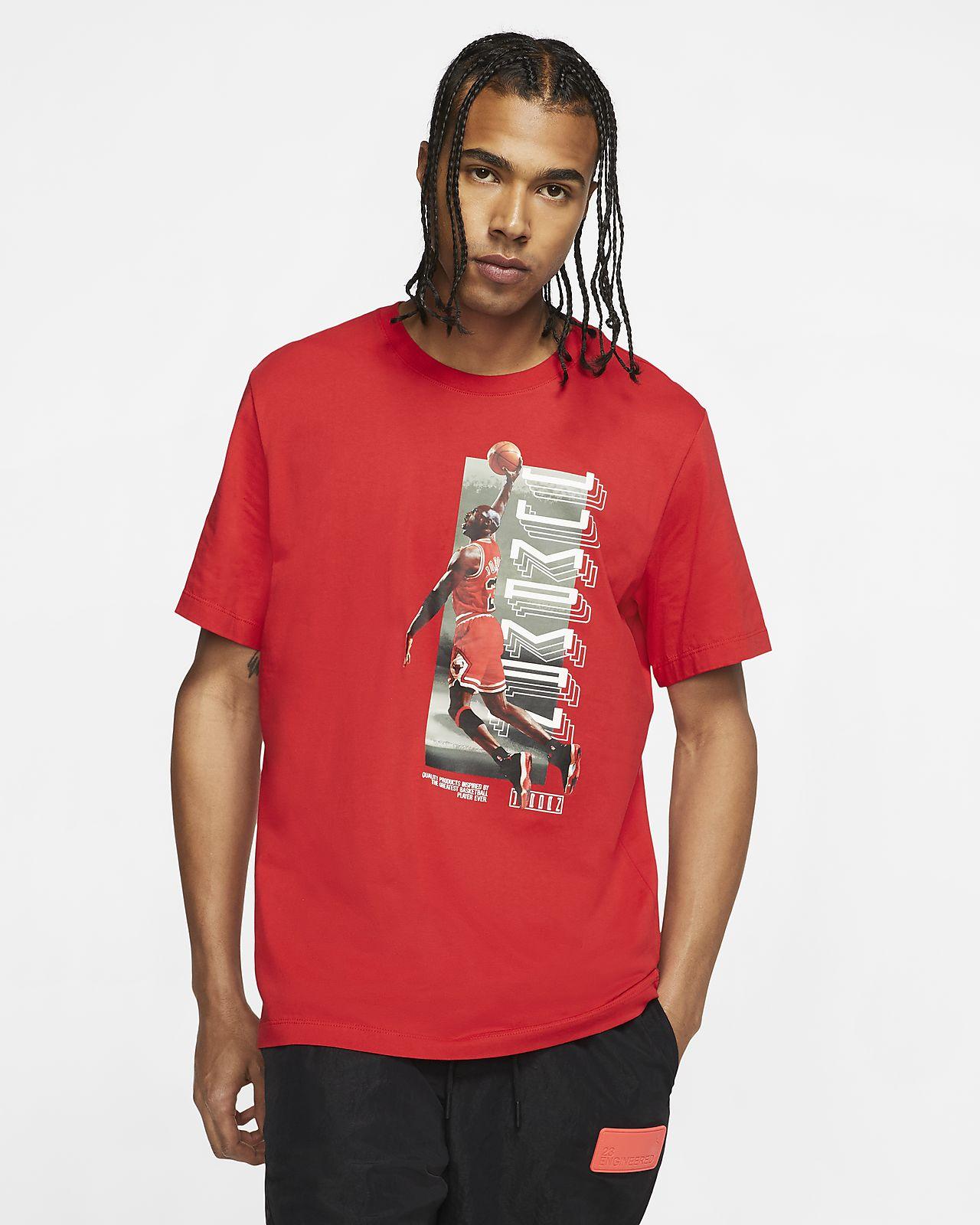 เสื้อยืดแขนสั้นผู้ชาย Jordan Legacy AJ11