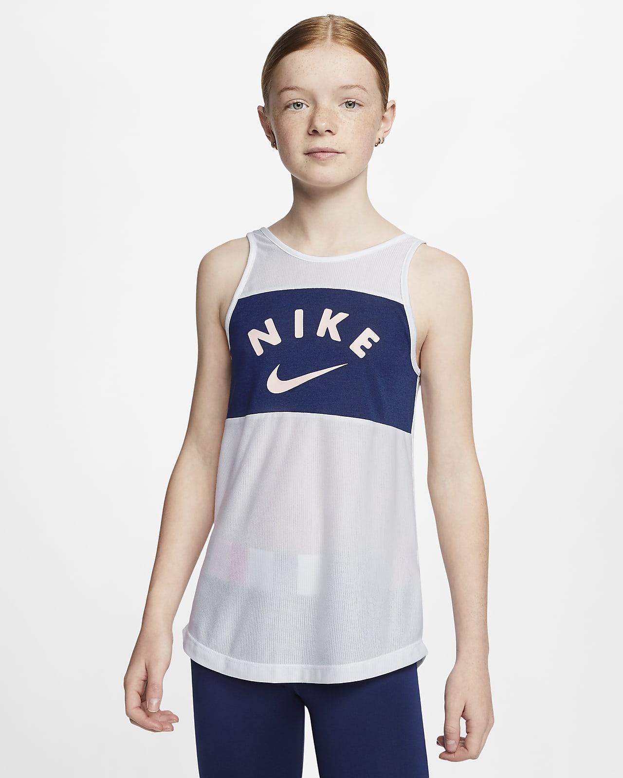 Nike Older Kids' (Girls') Training Tank