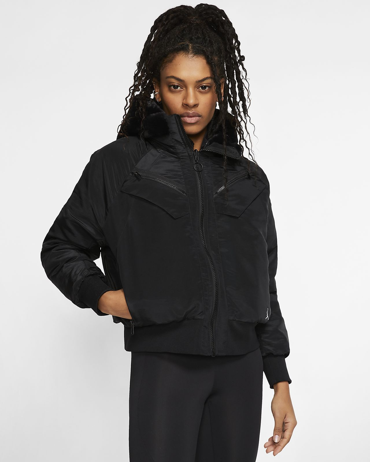Jordan Women's Reversible Bomber Jacket