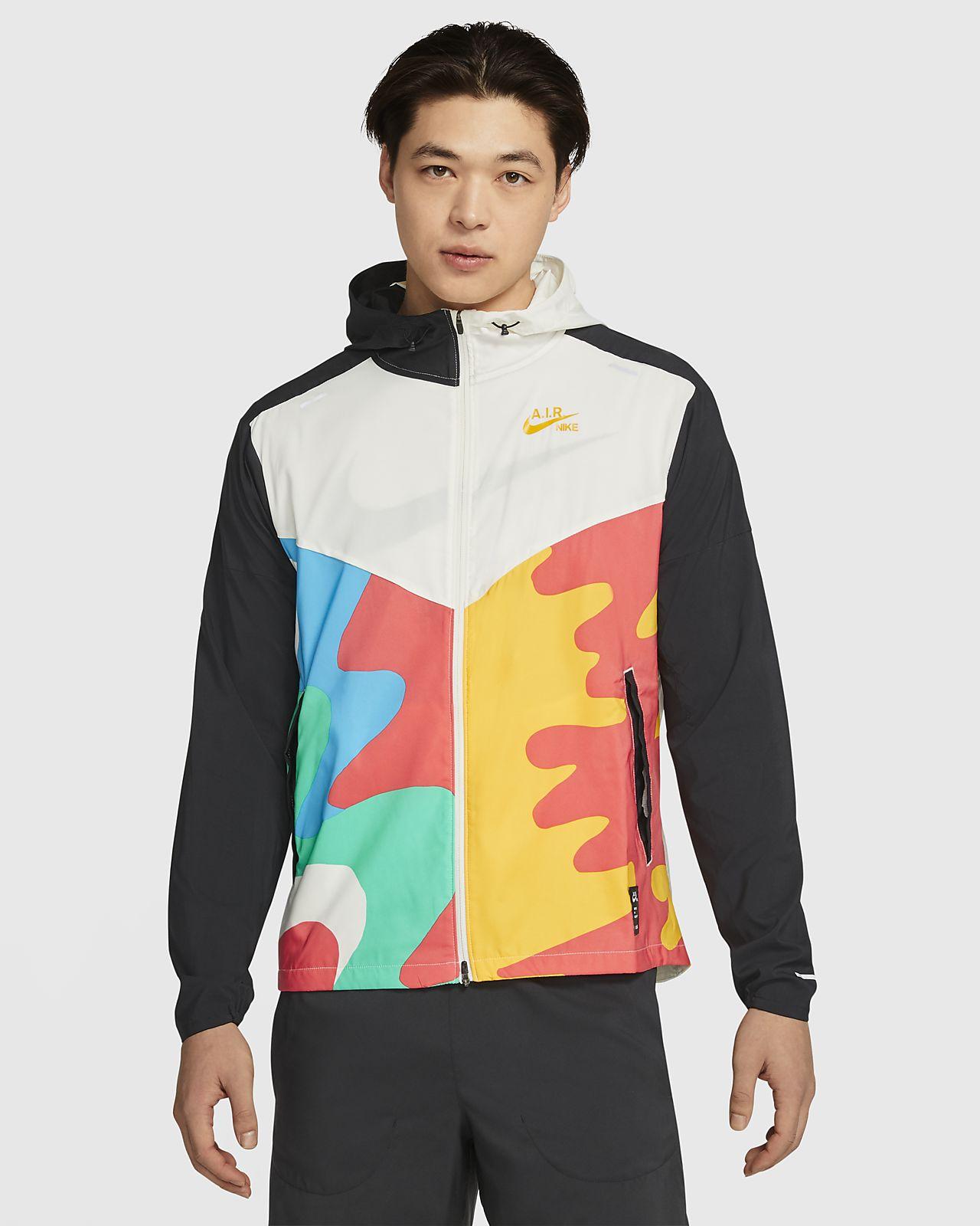 Nike Windrunner A.I.R. เสื้อแจ็คเก็ตวิ่งผู้ชาย