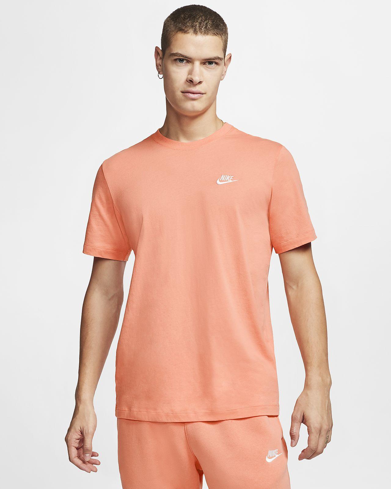 olvidar despreciar Plantación  Nike Sportswear Club Men's T-Shirt. Nike HR