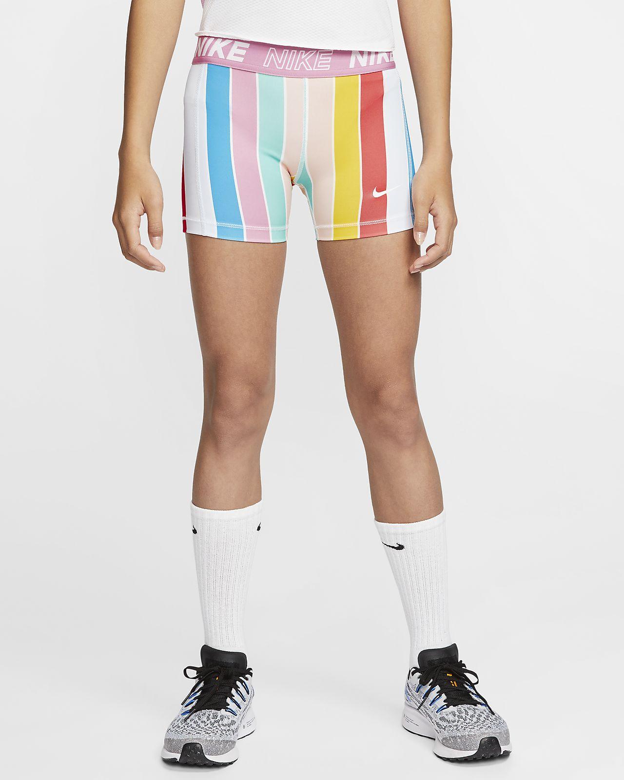 Nike Pro Older Kids Girls Shorts