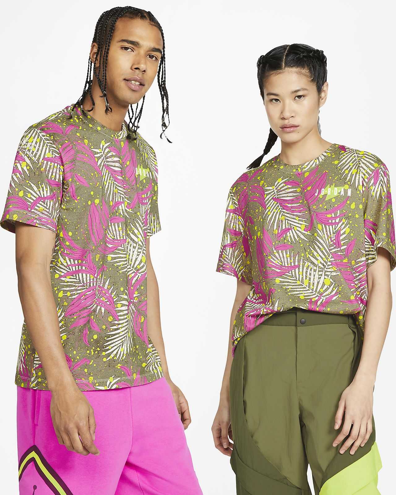 Jordan Poolside Men's Printed Crew