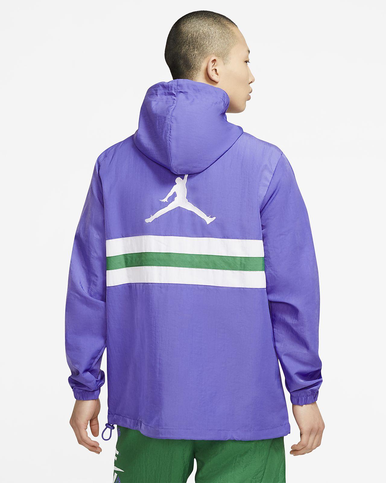 Vintage Nike Embroidered Logo Spray Jacket LXL