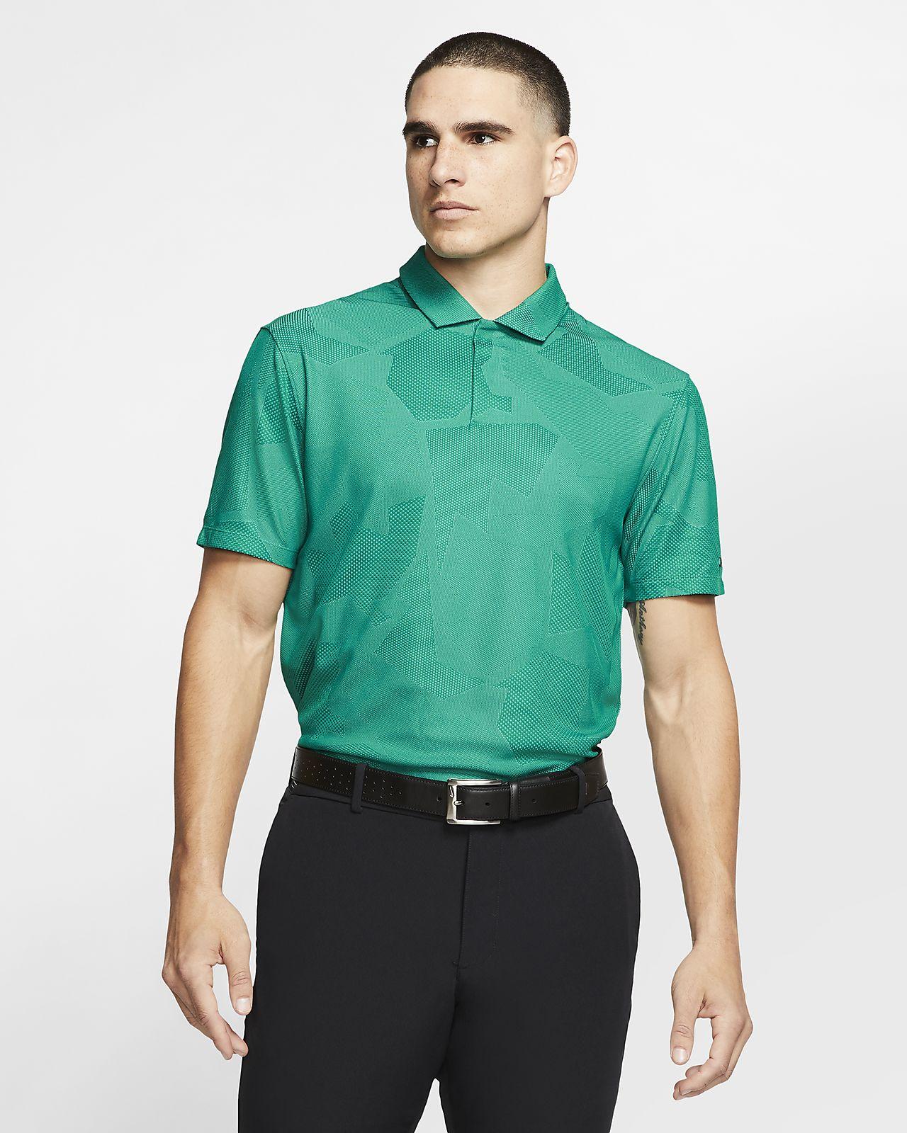 Nike Dri-FIT Tiger Woods férfi terepmintás golfpóló