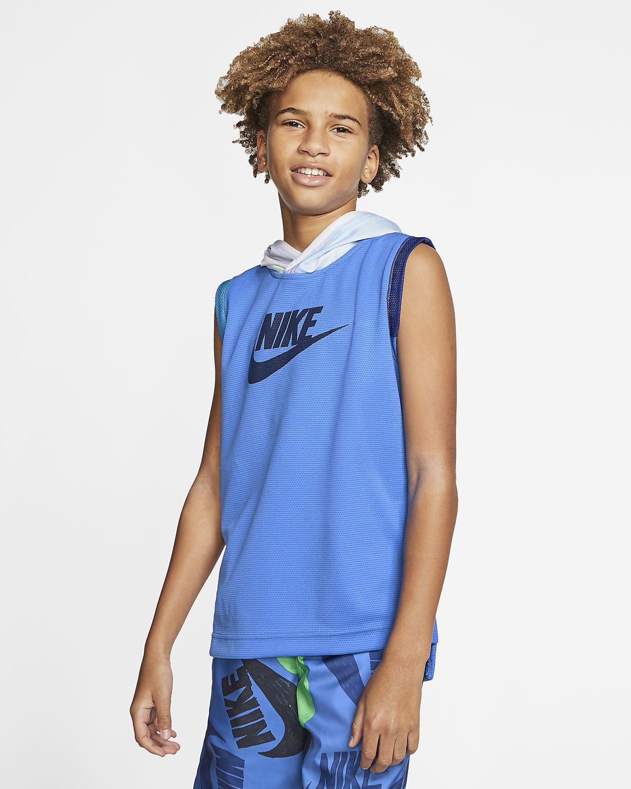 Nike Sportswear 大童 (男童) 無袖上衣