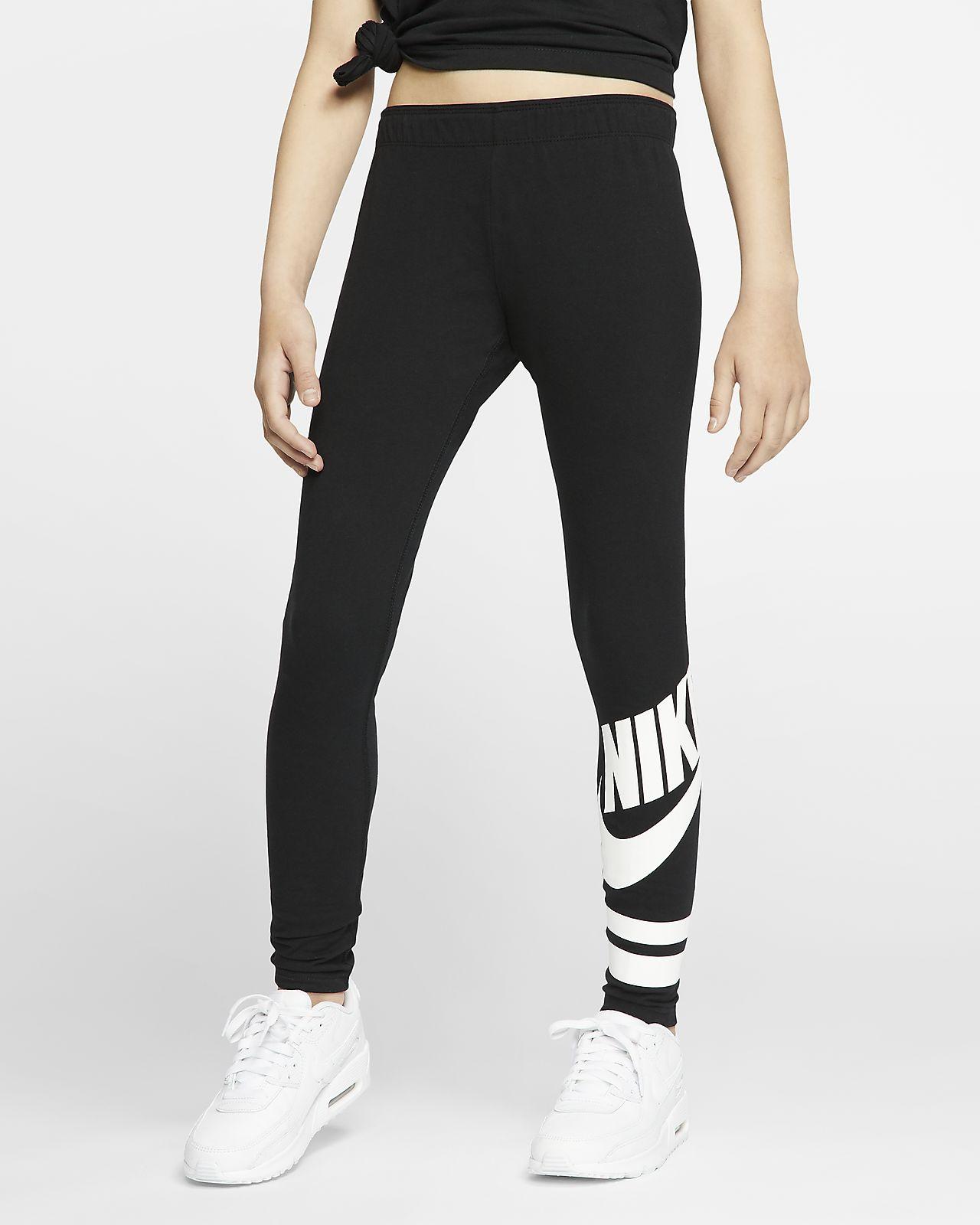 Nike Sportswear 大童(女孩)印花紧身裤