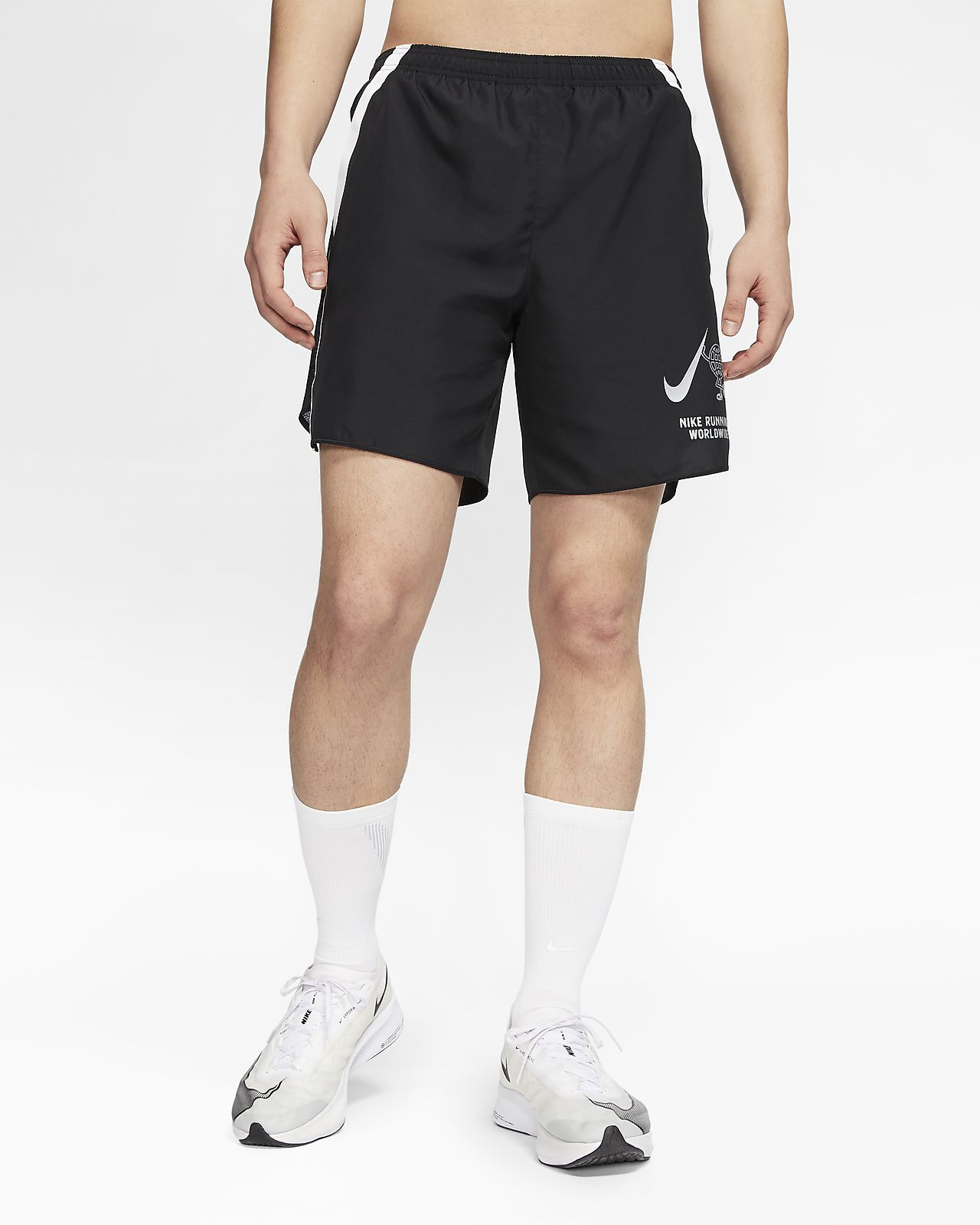 "Nike Challenger Wild Run 男款 7"" 襯裡跑步短褲"