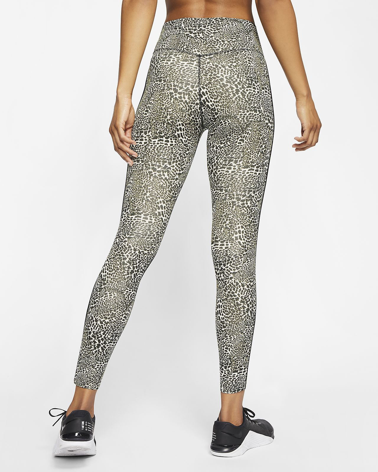 Nike One Women's Leopard Mid Rise 78 Leggings