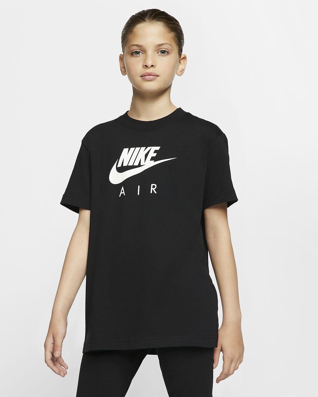 Nike Air Older Kids' (Girls') Cotton T-Shirt