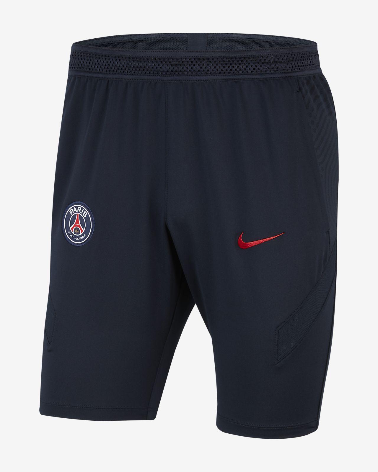 Calções de futebol em malha Paris Saint-Germain Strike para homem