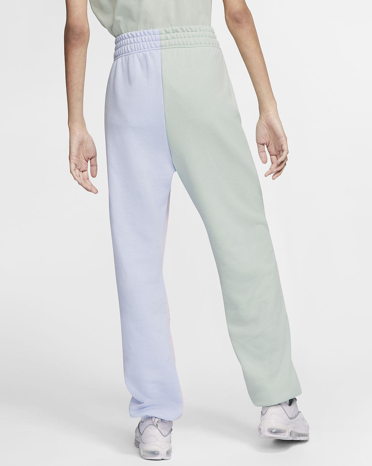 pantalon nike femme bleu