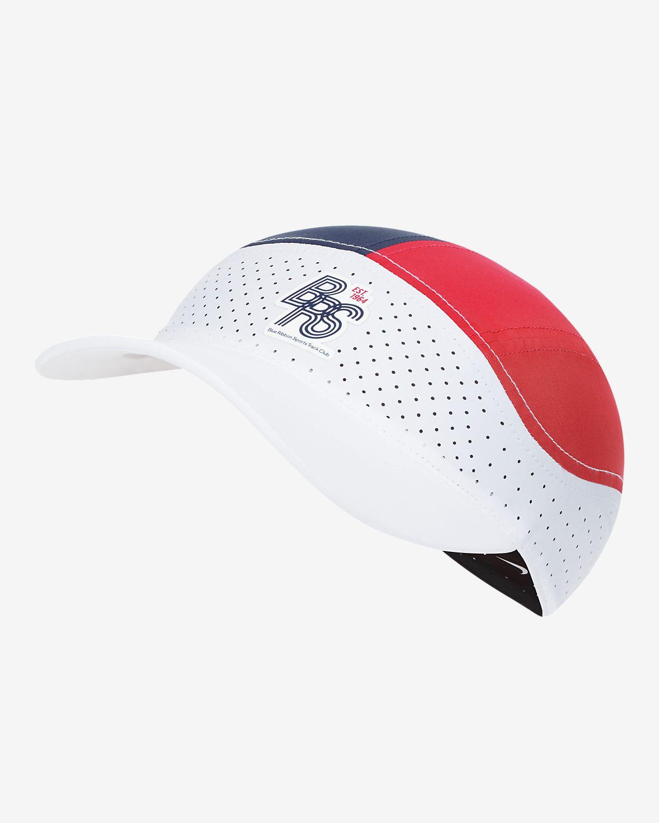Cappello da running Nike Tailwind Blue Ribbon Sports