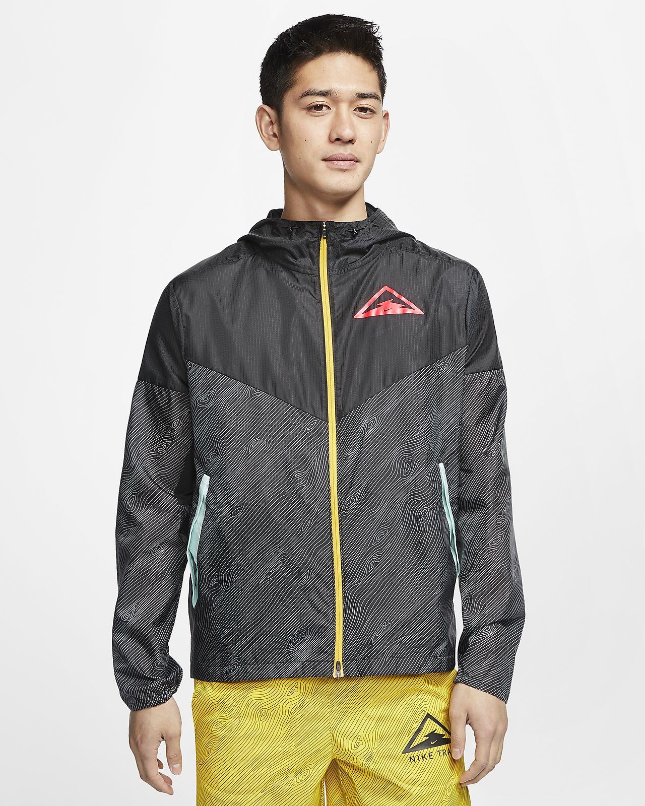 ナイキ ウィンドランナー メンズ フーデッド トレイル ランニングジャケット