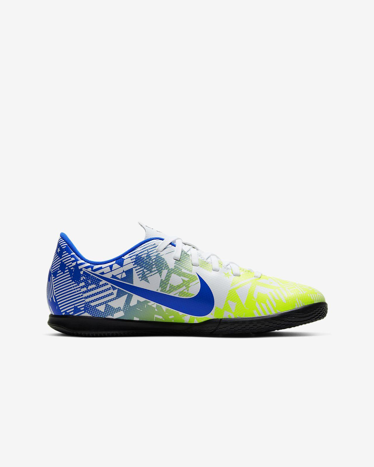 Nike R. Mercurial Vapor 13 Club Neymar R. IC Younger and Older Kids' Indoor Court Football Shoe
