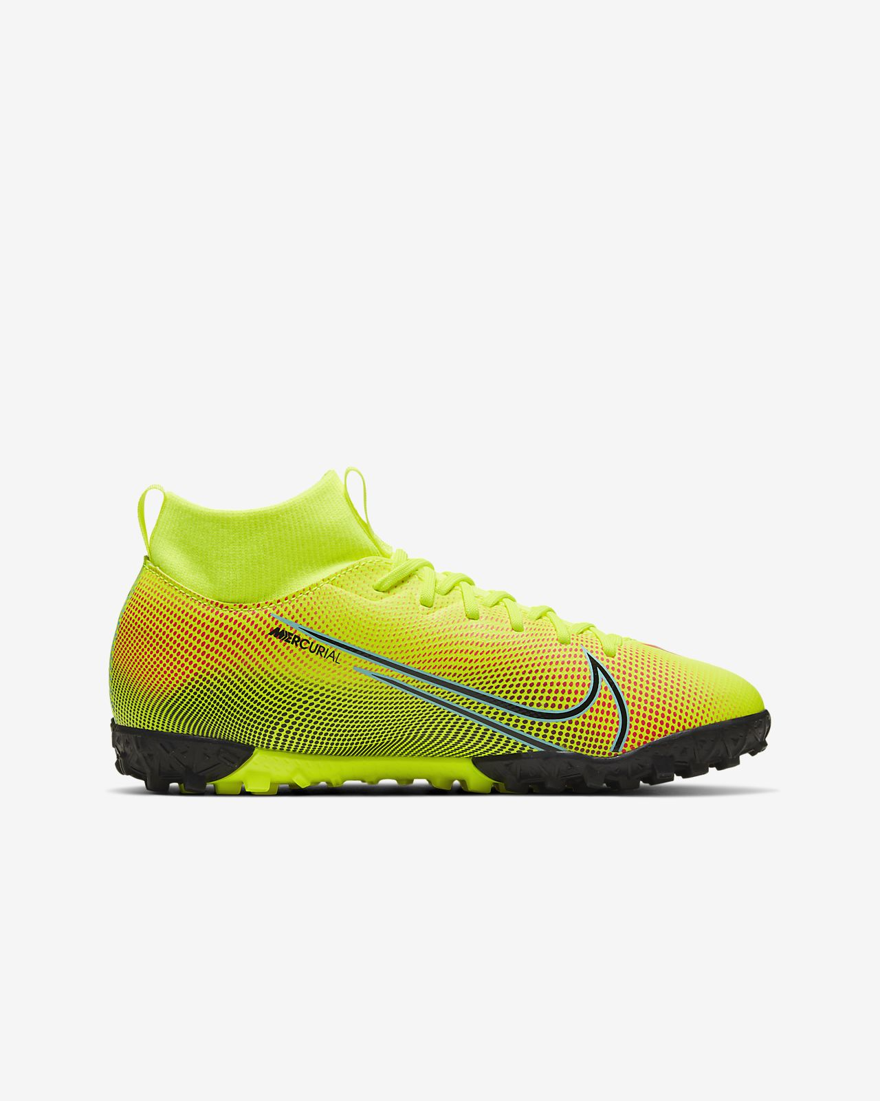 Nike Jr. Mercurial Superfly 7 Academy MDS TF fotballsko for grusturf til småstore barn
