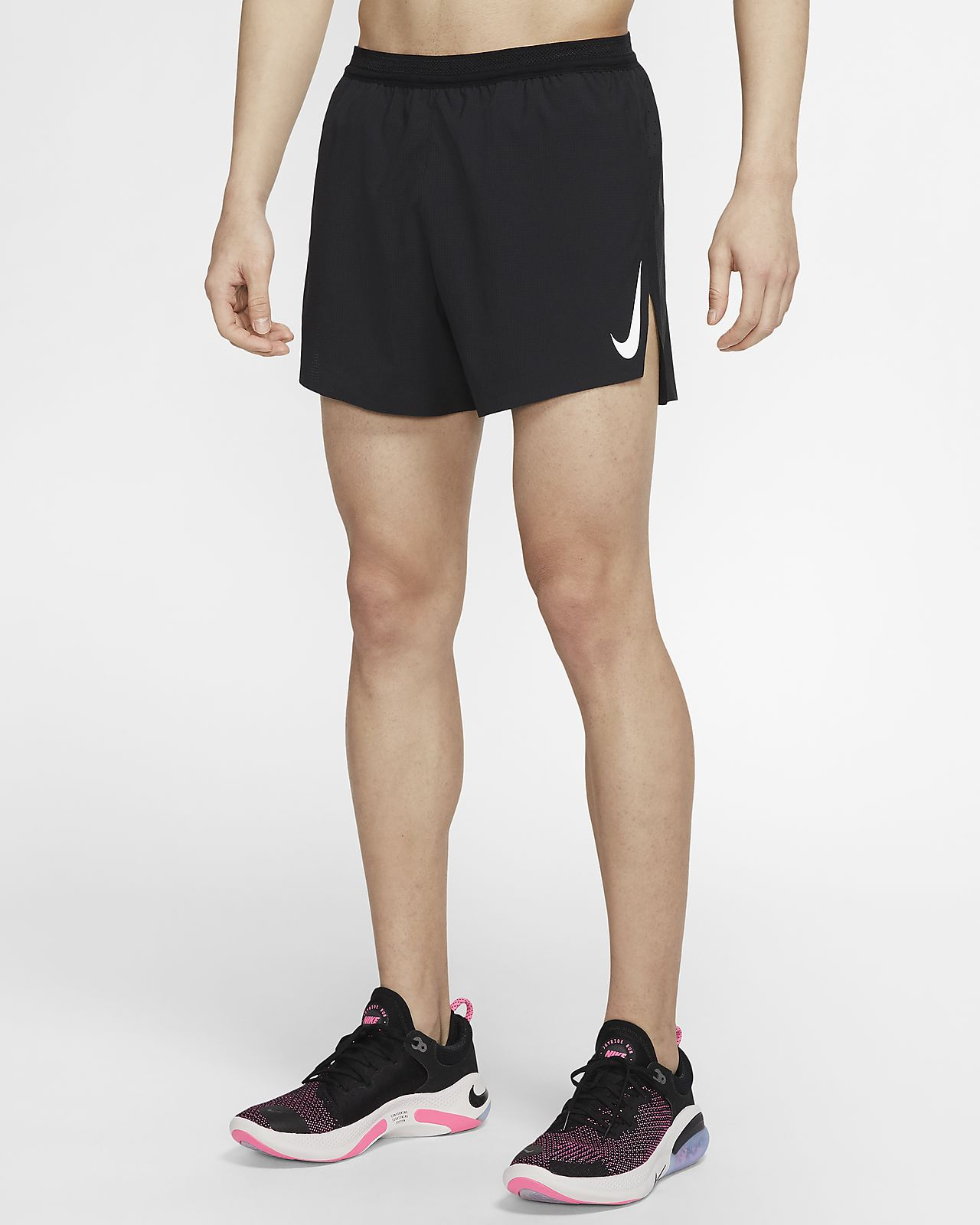 "Nike AeroSwift 男款 4"" 跑步短褲"