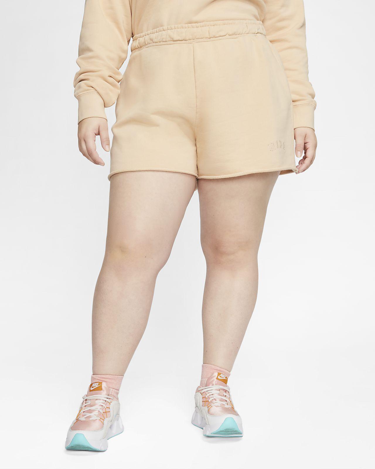 Nike Sportswear Women's French Terry Shorts (Plus Size)