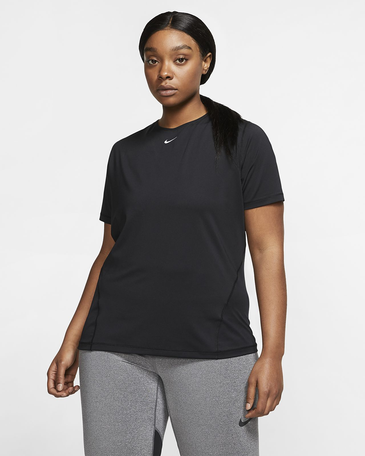 Nike Pro Women's Mesh Top (Plus Size)