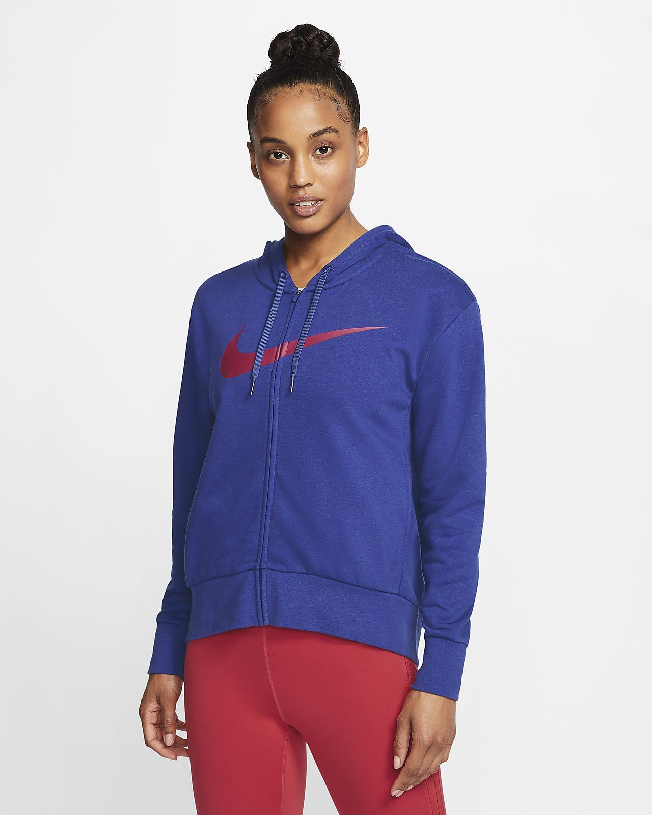 Sweat à capuche de training à zip Nike Dri-FIT Get Fit pour Femme