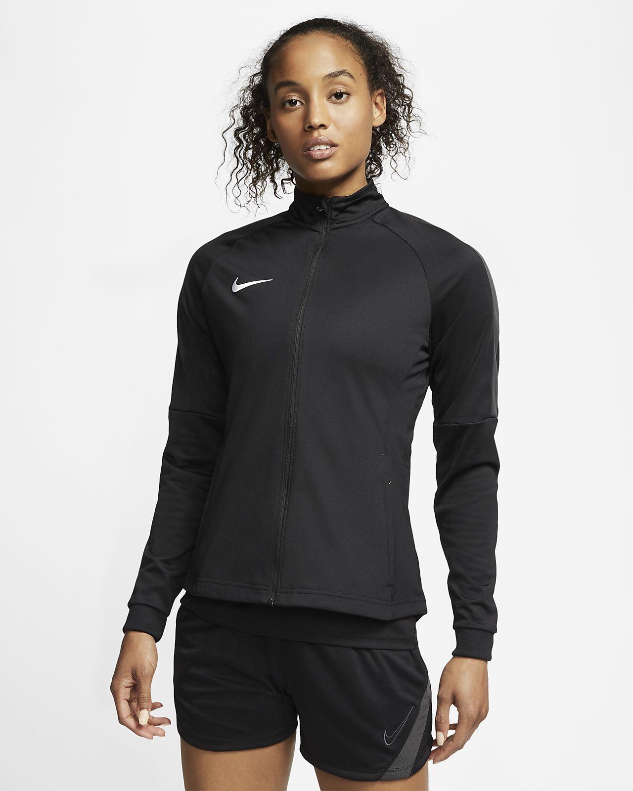 nike dri-fit academy fußball-track-jacket für damen