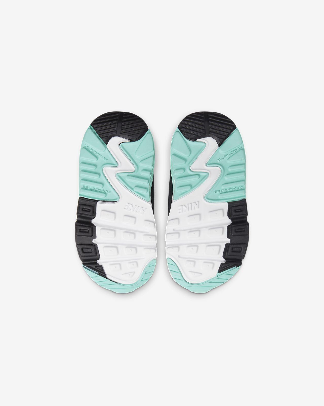 Nike Air Max 90 Schoen voor baby'speuters Wit