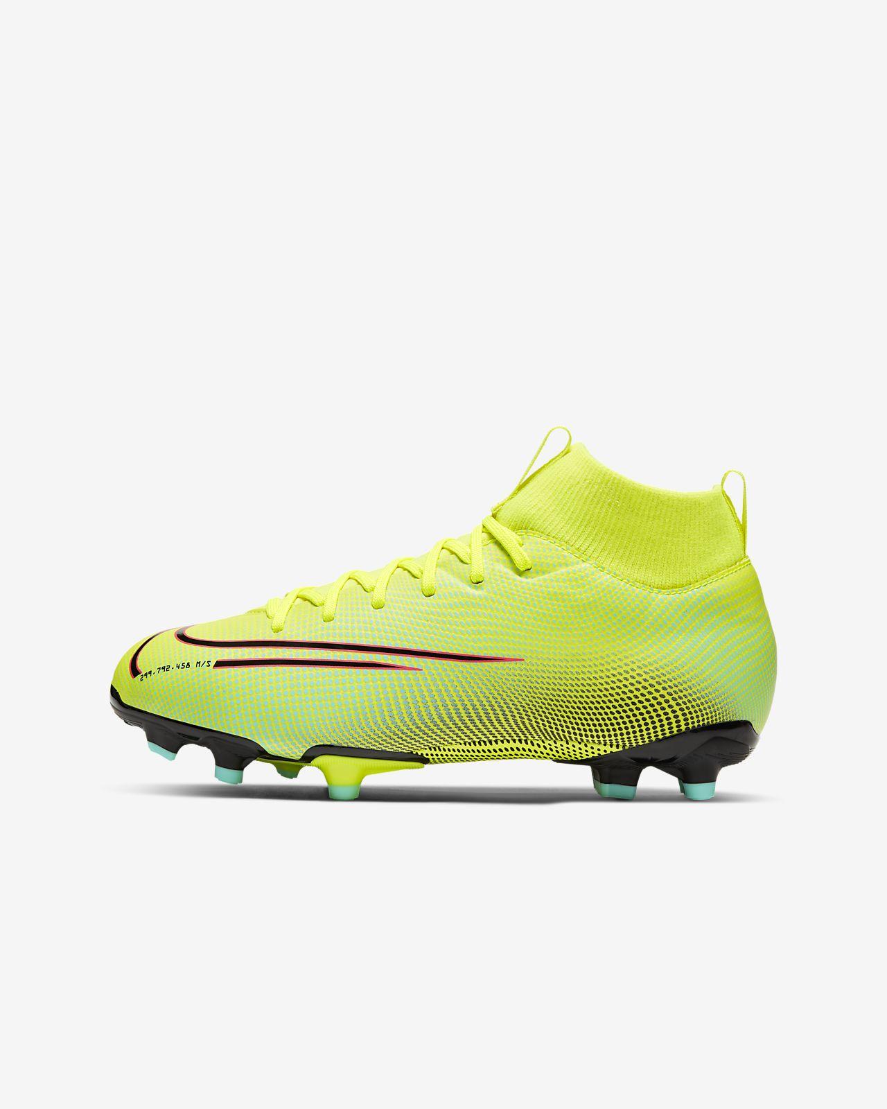 Ποδοσφαιρικό παπούτσι για διαφορετικές επιφάνειες Nike Jr. Mercurial Superfly 7 Academy MDS MG για μικρά/μεγάλα παιδιά