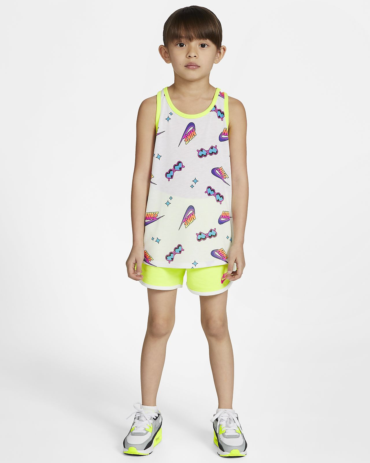 Nike Little Kids' Top and Shorts Set