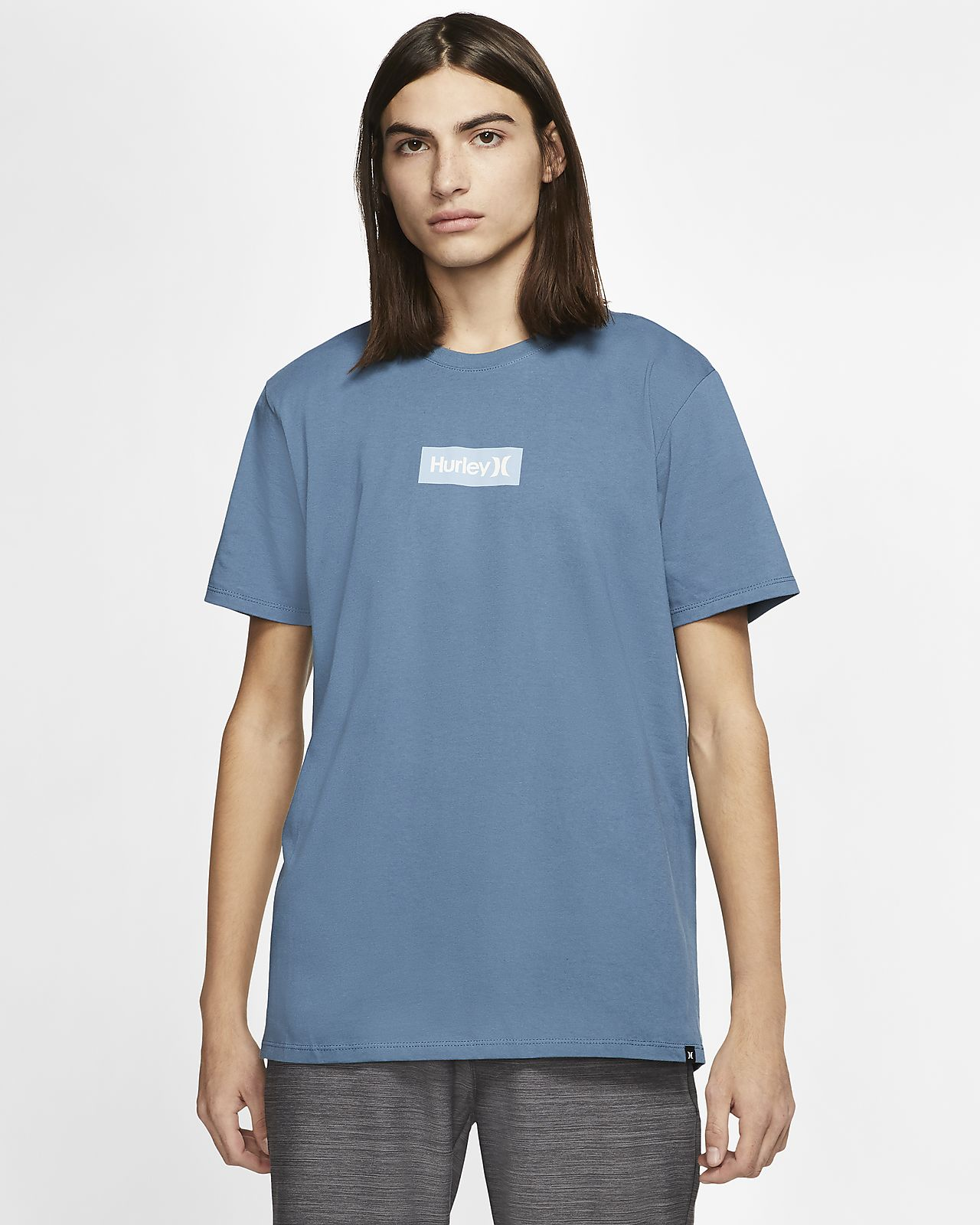 Blue Hurley One and Only Color Premium Short Sleeve Tee M